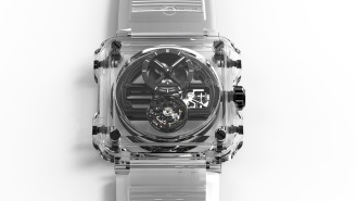 The BR-X1 Skeleton Tourbillon Sapphire Watch From Bell & Ross Sells For Half A Million Dollars