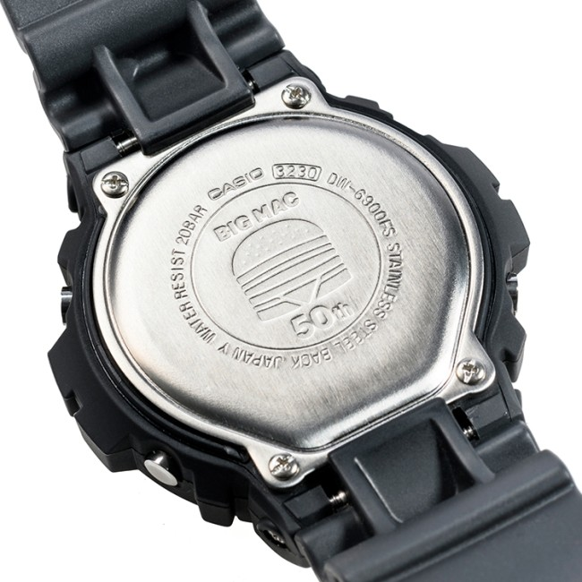 Big Mac 50th Anniversary G-Shock Watch