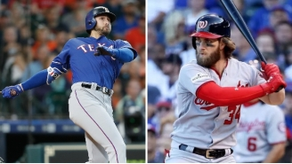 Joey Gallo Recalls Funny Story About How Bryce Harper Made Him Cry In Little League And Ended His Career As A Catcher