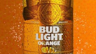 Bud Light Orange Is The New Summer Beer Brewed With Real Orange Peels