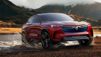 Did Buick Unveil A Sweet-Looking EV With 370-Mile Range, 550 HP And Augmented Reality HUD? Yup.