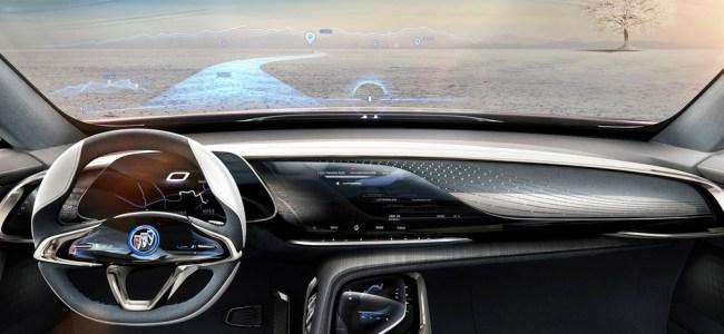 buick enspire EV concept car
