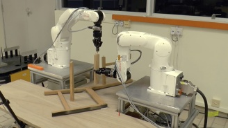 Robots Have Advanced To The Point Where They Can Assemble IKEA Furniture Without Murdering Someone
