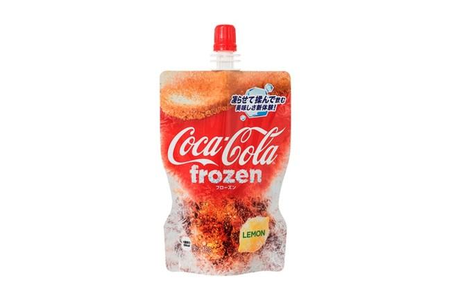 coca-cola frozen coke fanta slushie