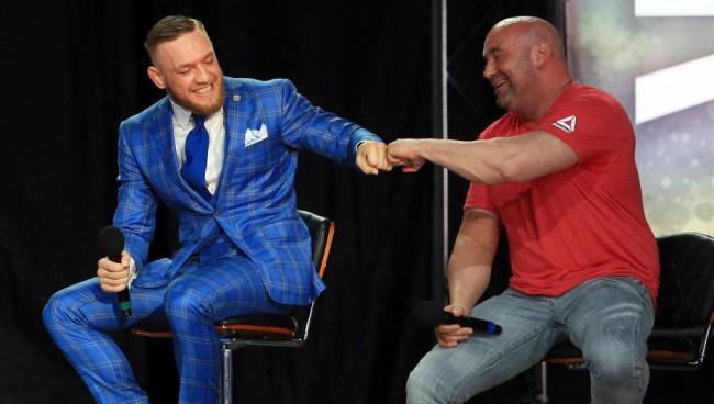 Dana White Conor McGregor Publicity Stunt