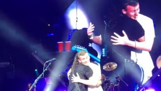 Dave Grohl 'Adopts' Fan During Foo Fighters Show – 'I'll Be Your Daddy'