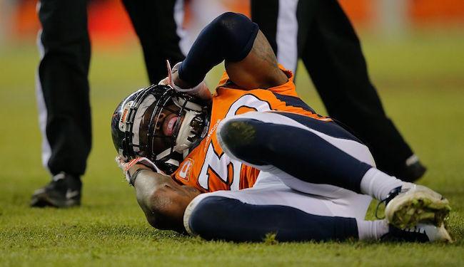 David Bruton denver broncos concussion