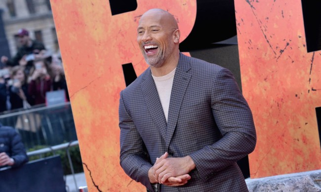 Dwayne The Rock Johnson Role Scared