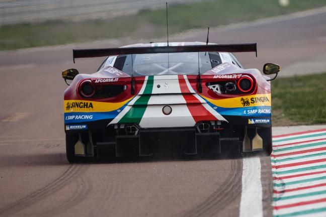 Ferrari 488 GTE Evo Debut Fiorano