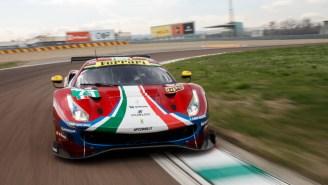 Ferrari's New 488 GTE Evo Made Its Debut At Fiorano In Preparation For The WEC Super Season