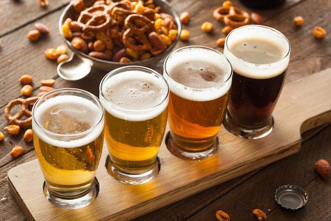 flight of beers summer