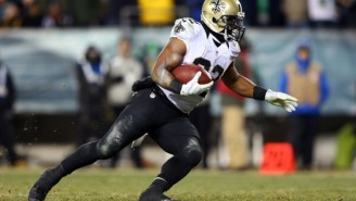 Saints RB Mark Ingram Tried To Juke A Military Dog And Got Absolutely Wrecked