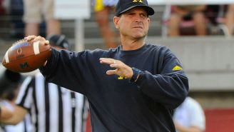 Michigan DL Elysee Mbem-Bosse Gets Heated And Threatens Coach Jim Harbaugh On Twitter For Suspending Him