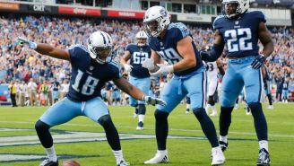 A Photo Of The Tennessee Titans New Jerseys Have Apparently Leaked Online And Fans Aren't Impressed