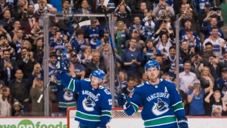 A Vancouver Canucks Fan Won The Largest 50/50 Raffle Jackpot In North American History Last Night