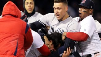Yankees-Red Sox Bench Clearing Brawl Features CC Sabathia Just Mowing People Over
