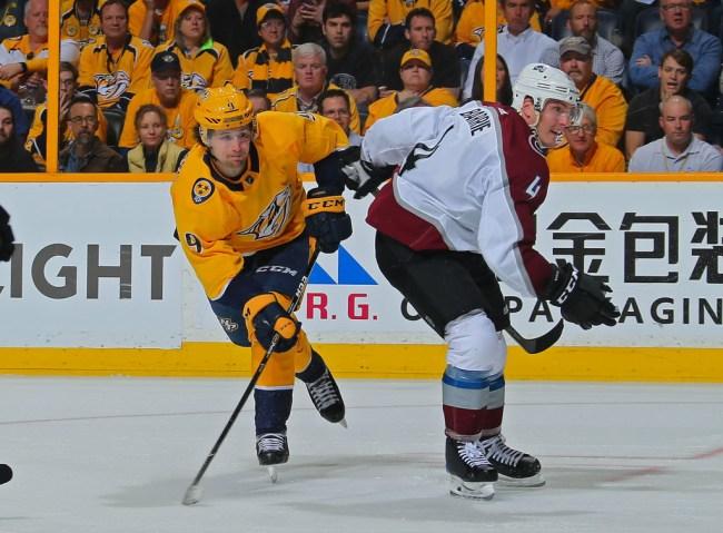 Filip Forsberg Nashville Predators NHL Stanley Cup Playoffs