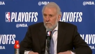 Spurs Coach Gregg Popovich Appears To Take A Not-So-Subtle Shot At Kawhi Leonard