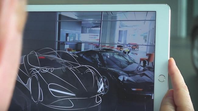 How McLaren virtual reality design cars