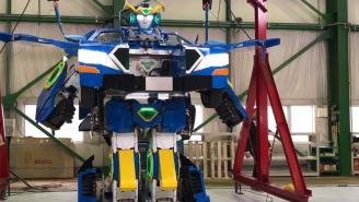 Japan Created A Real-Life Transformer That Goes From Robot To A Car You Can Ride