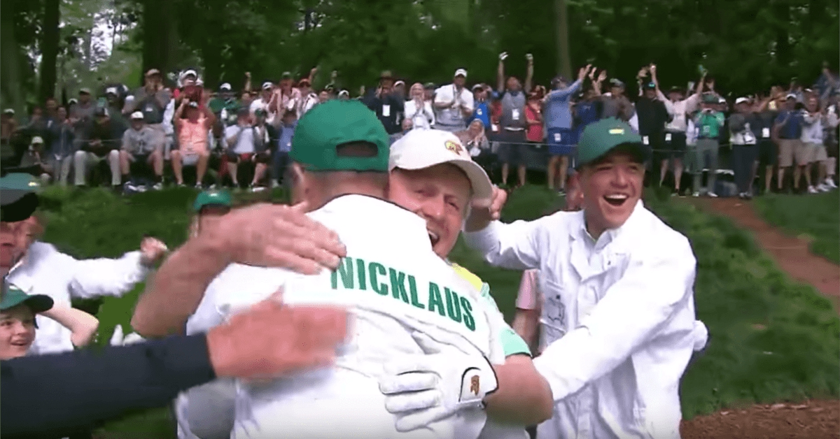 jack nicklaus grandson hole in one masters