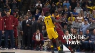 Did The Refs Screw The Pacers By Not Calling A Travel On Jeff Green During Controversial Final Play?
