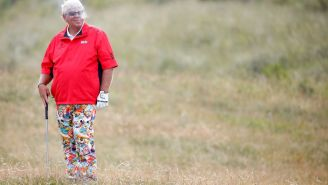 John Daly, A God Amongst Men, Makes Hole-In-One In Charity Event While Barefoot
