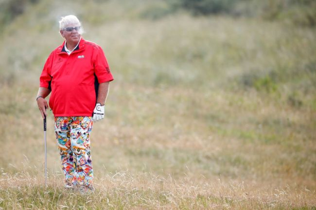john daly hole in one barefoot