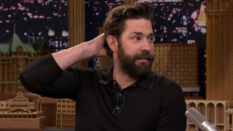 John Krasinski Remembers The Time A Cabbie Threw A Bagel At His Head For Being A Red Sox Fan In NYC