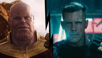 Josh Brolin On Who He Preferred Playing More, Thanos Or Cable, Plus Why He Was Able To Do Both