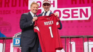 Josh Rosen Is 'Pissed Off' He Dropped To 10 In The Draft And Has Some Bold Words For First Nine Picks