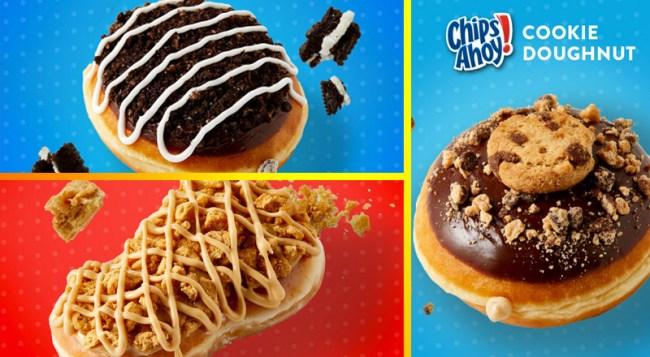 Krispy Kreme New Cookie-Doughnut Collection