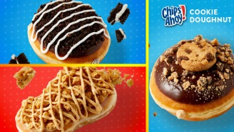 Krispy Kreme Releases New Cookie-Doughnut Collection: Nutter Butter, Oreo And Chips Ahoy!