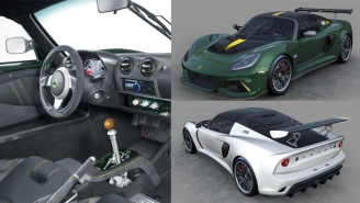 The New Lotus Exige Cup 430 Type 25 Honors Two F1 Legends, Will Be Limited To Just 25 Cars