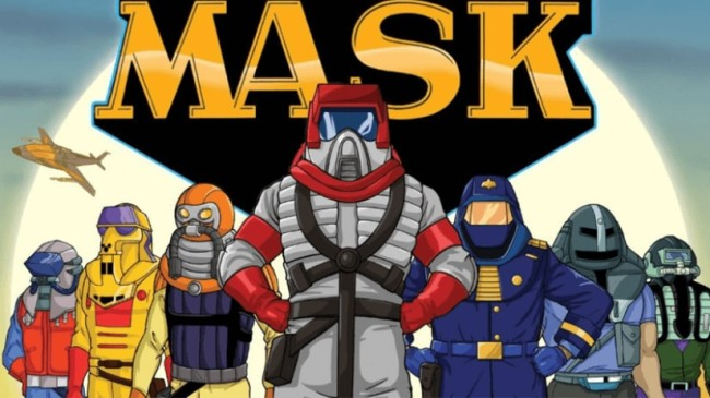 mask cartoon