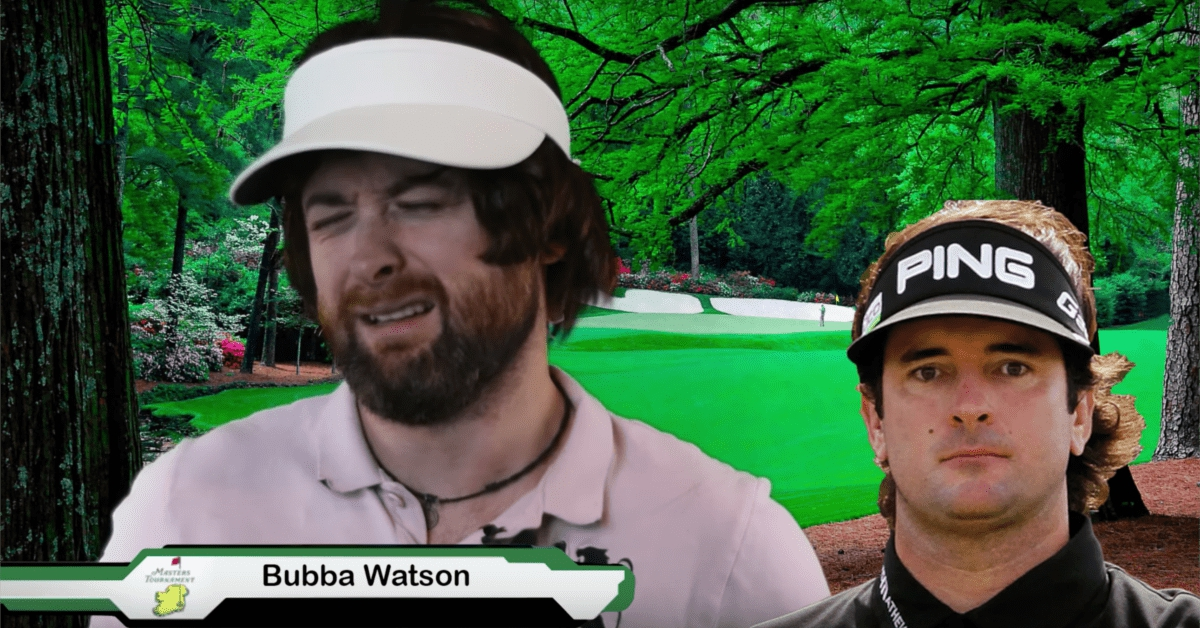 masters golfer interview impressions