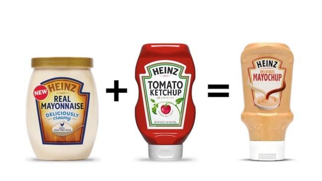 mayochup heinz mayonnaise ketchup