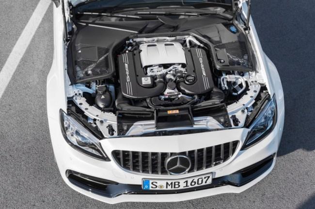 Mercedes-AMG C-Class 63 models new