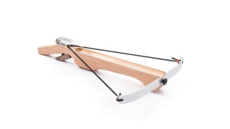 This Wooden Crossbow Fires Marshmallows Up To 60 Feet