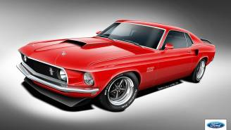 You Can Now Buy An Officially-Licensed, Brand New '69 Ford Mustang Boss 302, Boss 429 And Mach 1