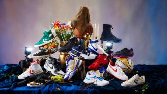 Nike's 'Art Of A Champion Collection' Features Shoes From NBA Stars Worn In Their Most Electric Moments