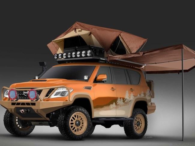Nissan Gives Armada Mountain Patrol Overland