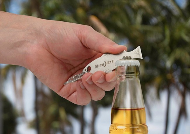 Nite Ize Fishkey Bottle Opener Keychain