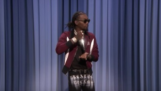Offset From Migos Raps His Actual Recipe For Chicken Stir-Fry
