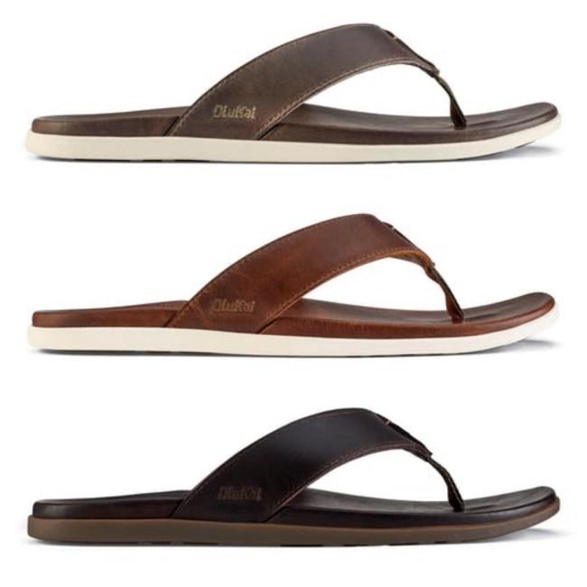 Olukai Nalukai Leather Sandals