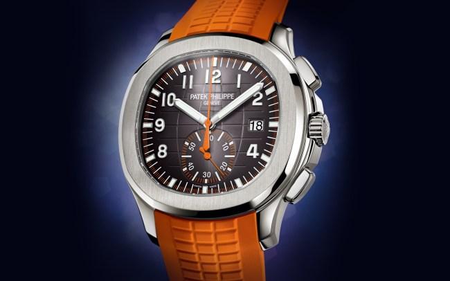 Patek Philippe Aquanaut Chronograph 5968A-001 orange
