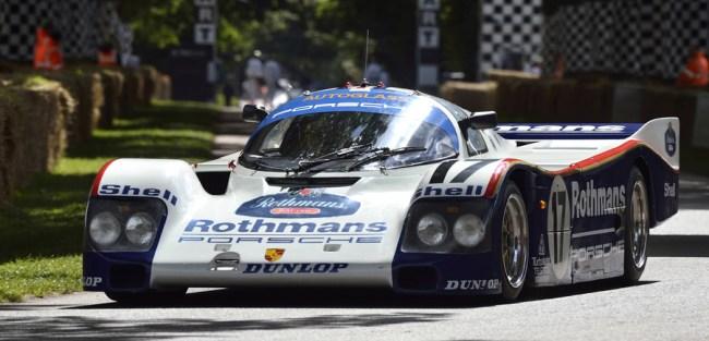 Porsche Top Five Most Iconic Race Cars 962C