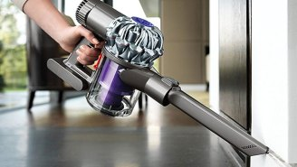 Dyson's Cordless, Bagless V6 Vacuum Will Help You Be An Adult