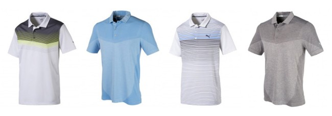 Puma Golf Rickie Fowler Masters Scripting Shirts