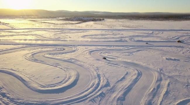 Pure McLaren Arctic Experience Race Track